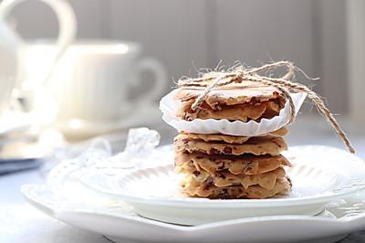 蔓越莓杏仁脆饼,简单制作营养美味小零食