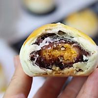 麻薯蛋黄酥的做法图解26