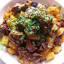 土豆烧排骨(川味版)