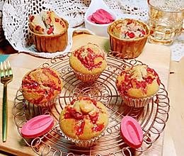草莓巧克力黄油麦芬的做法