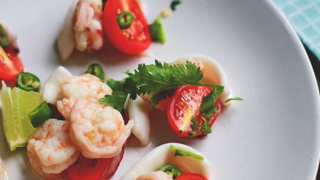 kerabu seafood (凯拉海鲜)的做法