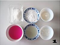 栗蓉蔓越莓冰皮月饼的做法图解11