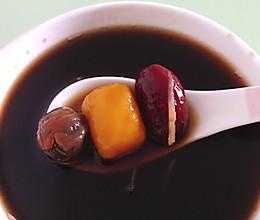 红糖姜丝南瓜丸子