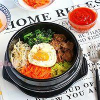 韩式石锅拌饭的做法图解9