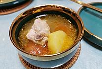 番茄土豆排骨汤的做法