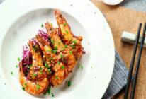 饭合 | 干烧黑虎虾的做法