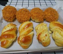 肉松包 VS 椰丝包的做法