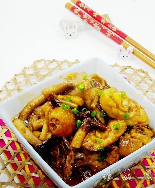 茶树菇滑鸡---春季美食的做法
