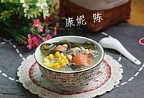 海带玉米排骨汤的做法
