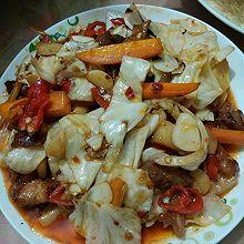 酸爽的泡菜炒瘦肉