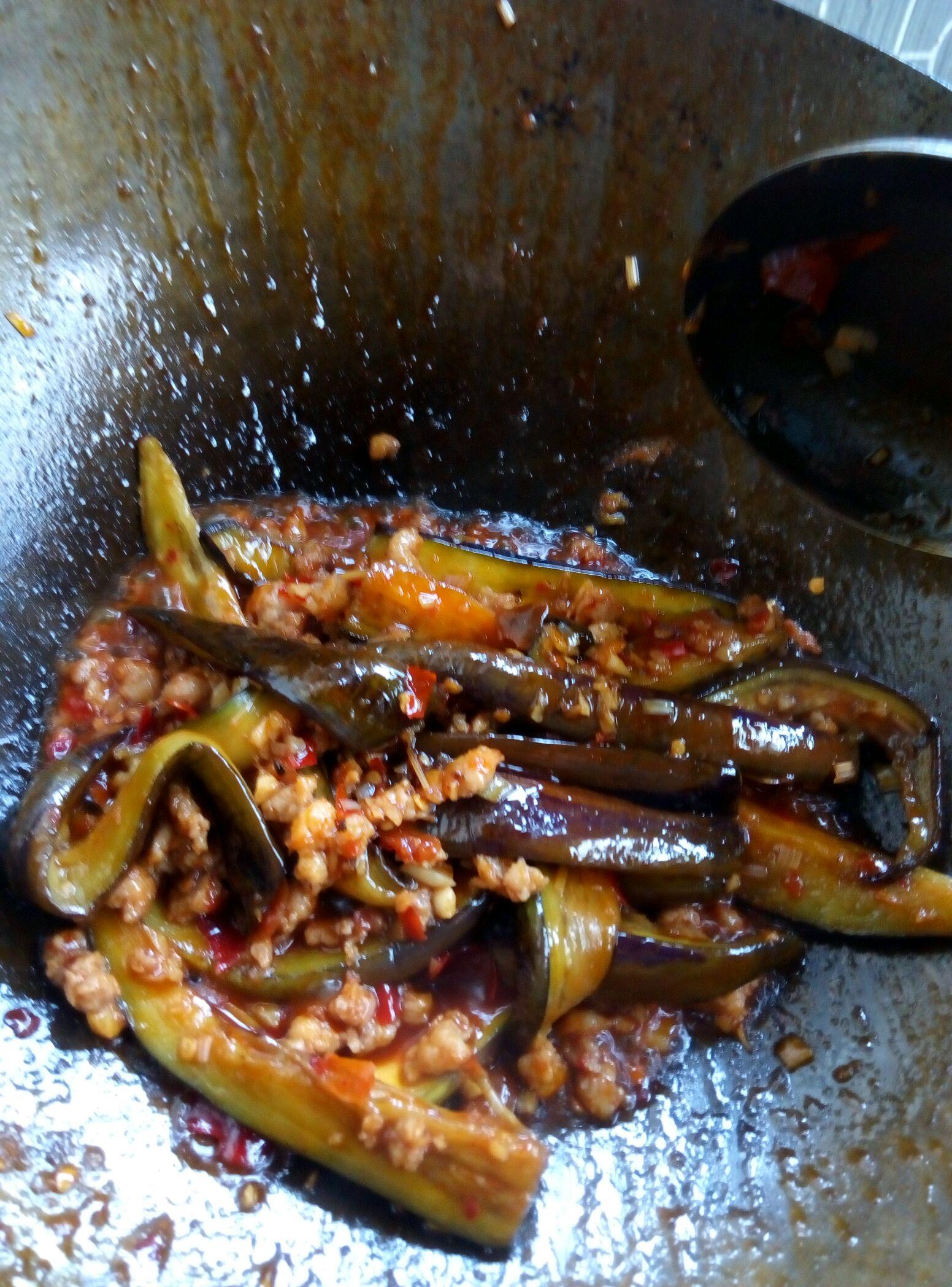 鱼香茄子的做法图解6