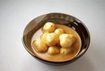 微波炉版咖喱鱼蛋的做法