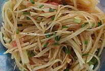 【家常小炒】番茄土豆丝的做法