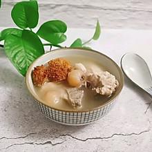 猴头菇芡实龙骨汤#中秋团圆食味#