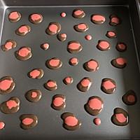 粉豹纹草莓蛋糕卷#松下多面美味#的做法图解12