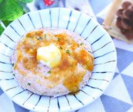 莲藕肉饼蒸蛋  宝宝辅食食谱的做法