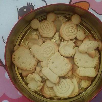 植物油普通粉做出超好吃饼干