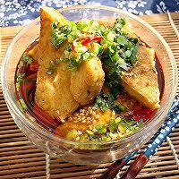 古北香煎豆腐角的做法图解5