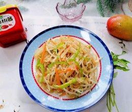 #一勺葱伴侣,成就招牌美味#炝拌小豆芽的做法