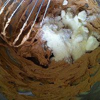 曲奇饼干-抹茶、咖啡、香草的甜蜜三色的做法图解4