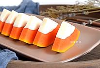 要想皮肤好,木瓜椰奶冻少不了#百变水果花样吃#的做法