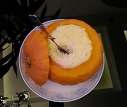 南瓜糯米饭的做法