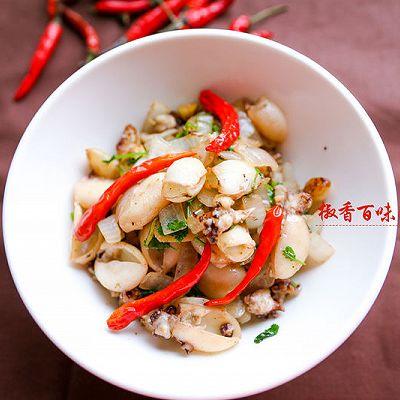 我爱中餐之椒香扑鼻鲜嫩可口目鱼仔(空气炸锅版)