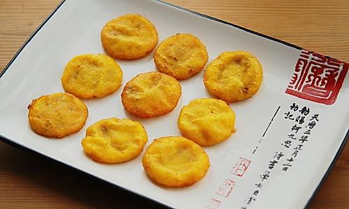 炸红薯芝麻馅饼和红薯元子的做法