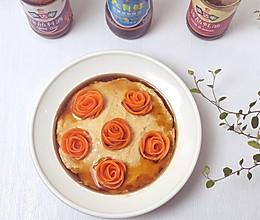 #元宵节美食大赏#胡萝卜玫瑰蒸鸡肉的做法