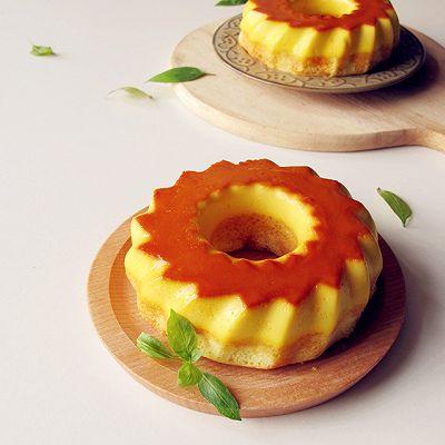 长帝行业首款3.5版电烤箱试用报告--焦糖布丁蛋糕