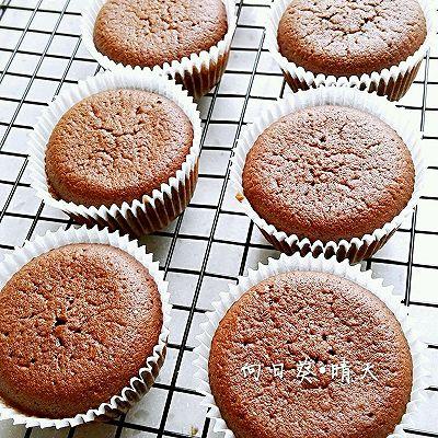 可可味杯子蛋糕(8个量)
