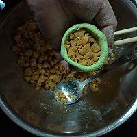 Mucci:我想尝试的24味——No.10:奶香蛋黄肉松青团的做法图解7