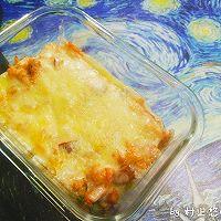 奶酪红肠杂蔬焗饭