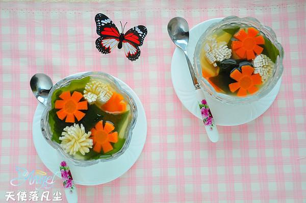 味噌海带豆腐汤