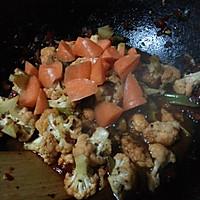 #菁选酱油试用之豉椒花菜的做法图解8