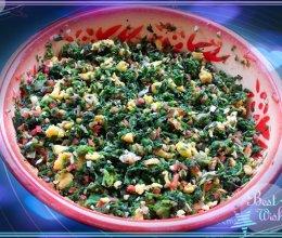 野菜篇——盘出不干、不柴的荠荠菜素饺子馅的做法