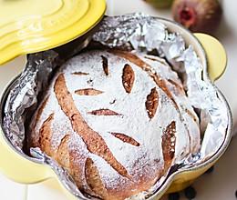 玫瑰红糖桂圆核桃面包的做法