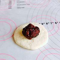 #爱好组-高筋#日式红豆包的做法图解13