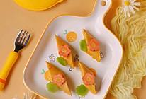 孩子爱吃的金枪鱼蔬菜卷饼和椰香苹果土豆泥的做法
