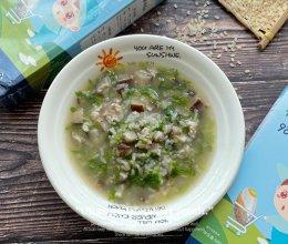 瘦肉香菇芹菜胚芽米粥的做法