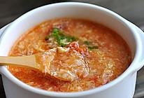 番茄鸡蛋疙瘩汤的做法