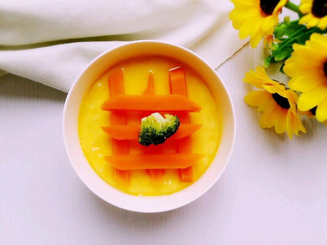 蜜汁南瓜蛋羹(宝宝早餐食谱)
