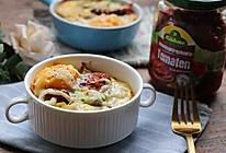番茄牛油果焗蛋的做法