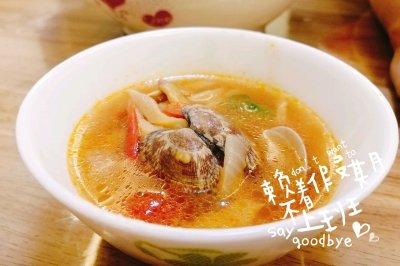 鲜掉眉毛的蛤蜊汤