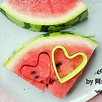 ♡西瓜水果♡-冰汽水的做法图解2