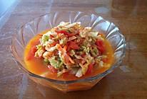 西红柿炒卷心菜的做法