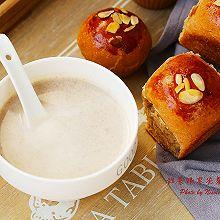#秋天怎么吃# 秋日温暖早餐:红米红枣豆