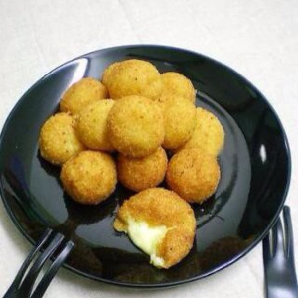 芝心薯球的做法