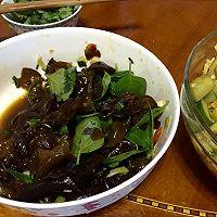 午饭小吃—酸辣拍黄瓜+凉拌黑木耳的做法图解5