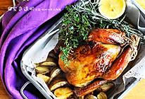 圣诞家宴餐桌上的保留菜:脆皮烤鸡的做法